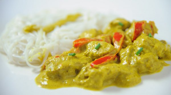 Recette filet mignon au curry