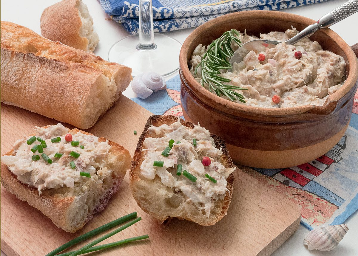 Rillettes de poisson minute