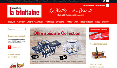 Biscuits La Trinitaine
