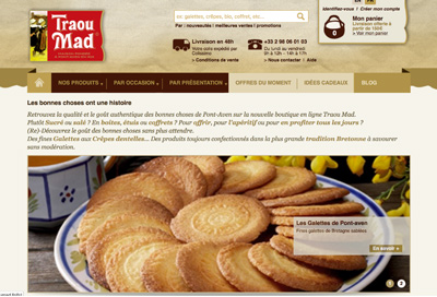 Biscuits traoumad
