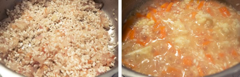 Comment cuire le risotto