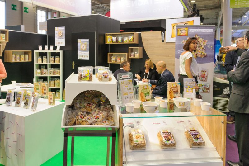 Le stand Grillon d'Or à Natexpo