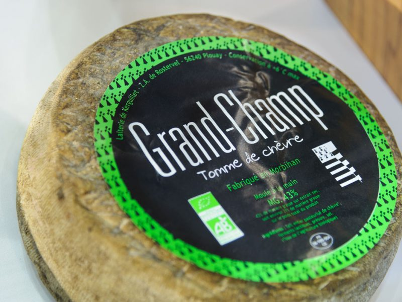 Le Grand Champ, fromage de chèvre