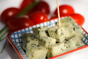 Fromage tomme aux orties